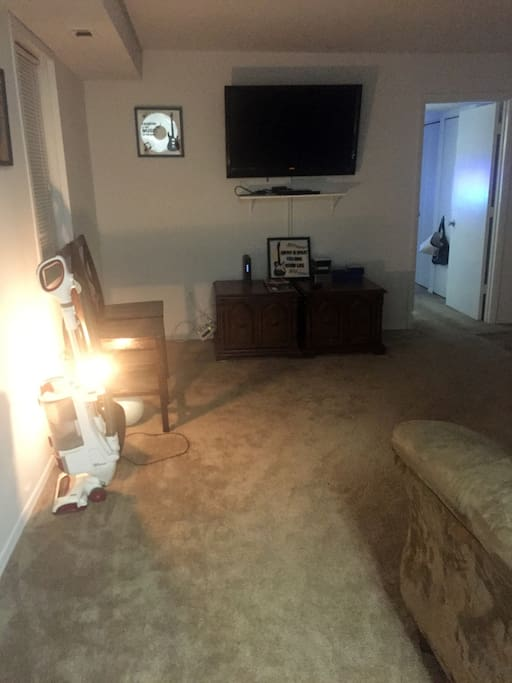 Large Entertainment Center And Couch