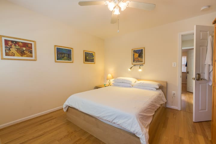 Old Towne Alexandria Van Gogh suite