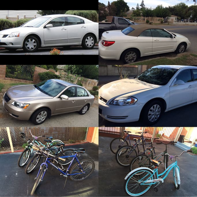 Car rental: $15-29 a day . Free millage , include fees and taxes and no dipeosit needed   Bicycle rental: $5/day.                                                                                                           Gps : $5 a day