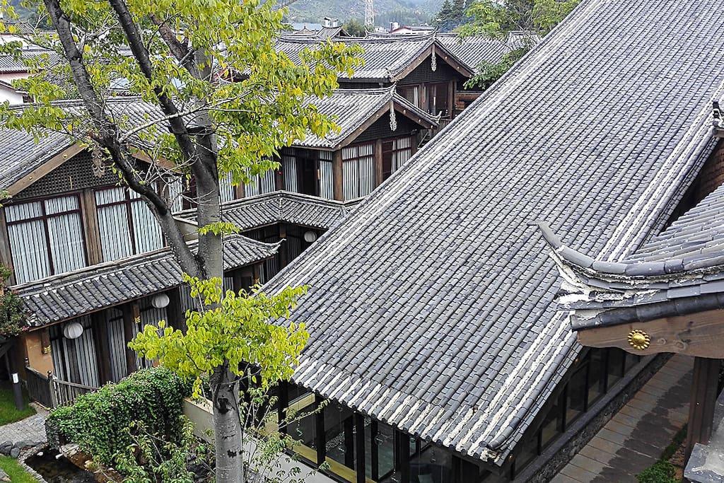 纳西式传统庭院,闲庭信步慢生活。
