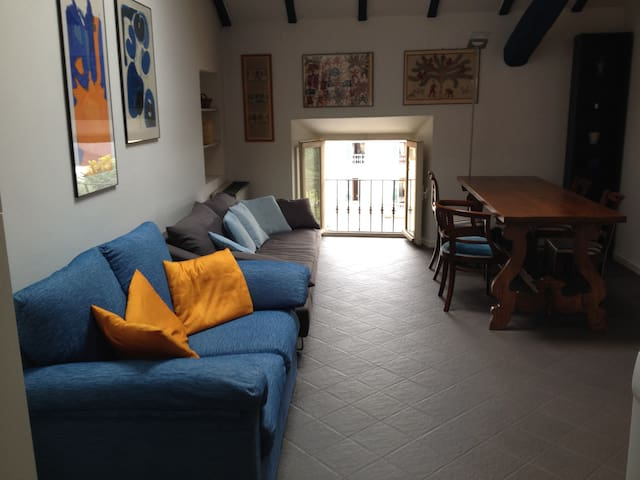 Central flat with mezzanine - Pallanza - Apartament