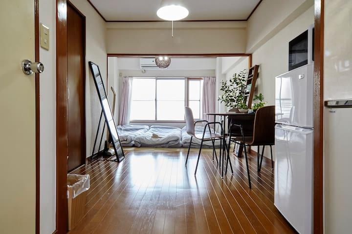 ShinagawaArea.w 3mins→house33 - Shinagawa-ku - Lägenhet