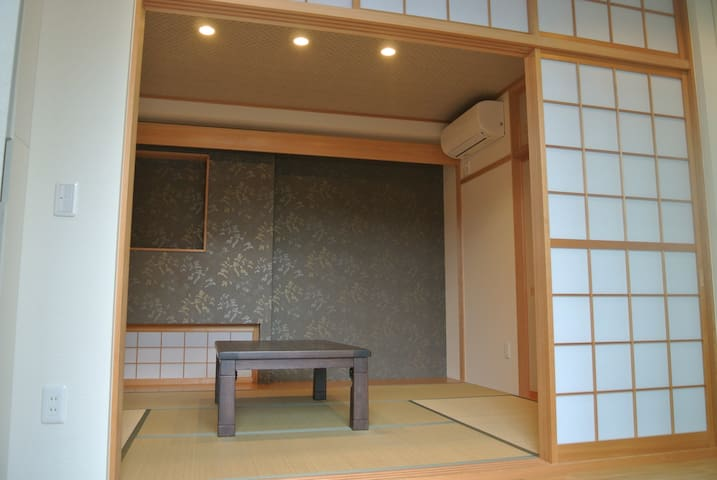 A terrace Japanese-style room with cats ~富山~ - Imizu-shi - Huis