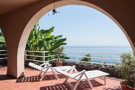 panoramic apartament on the sea - アーチカステッロ(Aci Castello) - アパート