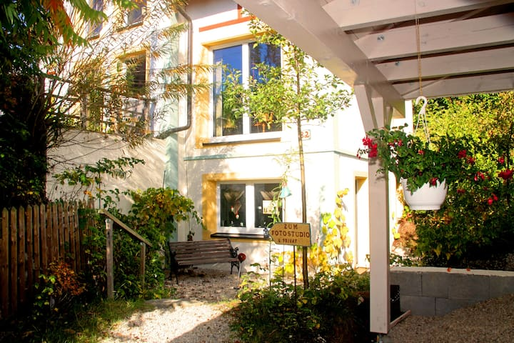 Zimmer im Grünen - Oberhöchstädt - บ้าน