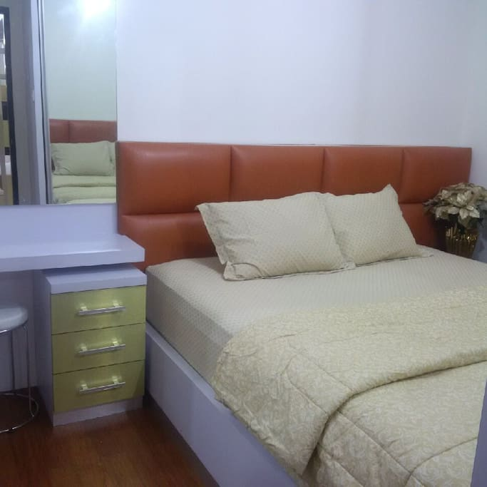 Main bedroom (180cmx200cm), with bathroom