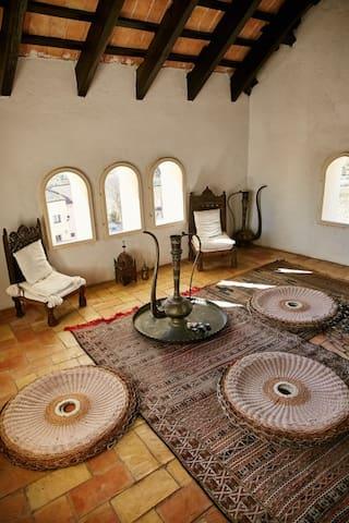 Tower tea room