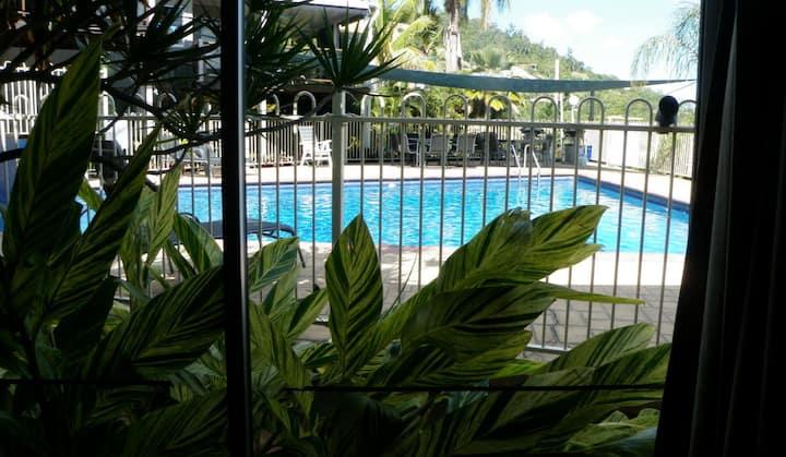 Poolside Charm