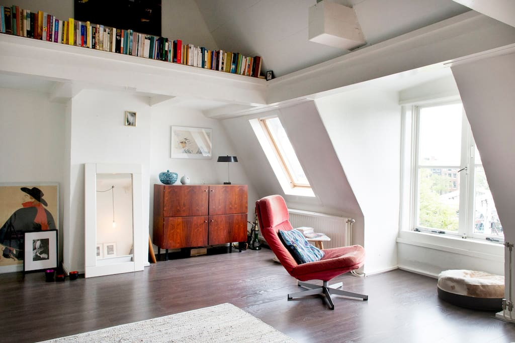 Cosy apartment with the best view on the canal for Affitto appartamento amsterdam centro