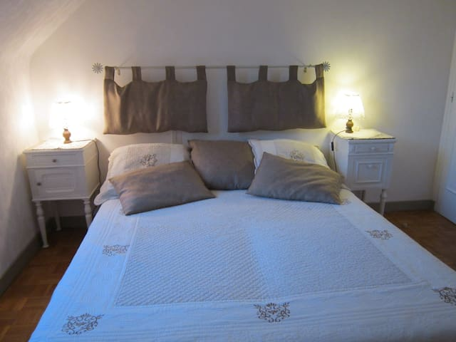 grd chambre confortable, sdb privee - Hillion - Hus