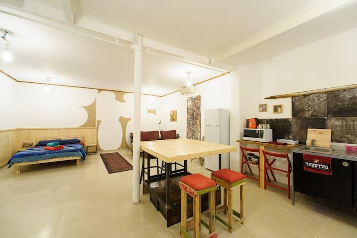 Hoodna's Bar florentin urban loft 1 - Tel Aviv-Yafo - Loft