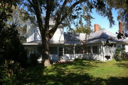 Historic Farm House near Durham, NC - Casa