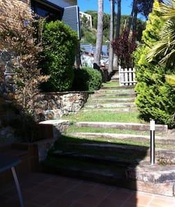 Estudio con piscina y jardin - Vallromanes