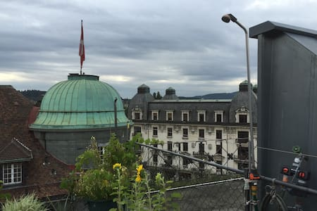 Biel / Bienne downtown Available for One Month - Biel/Bienne - Apartment