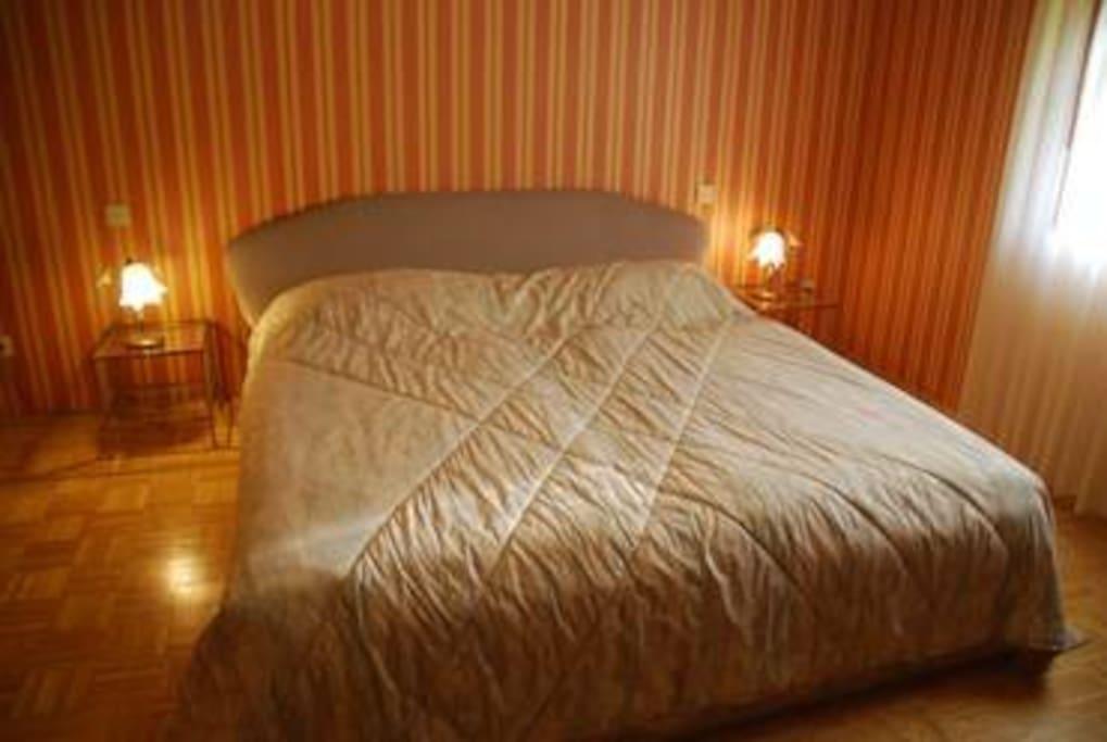 Insgesamt 2 Doppelbett-Zimmer vorhanden