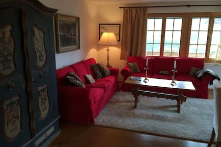 Beautiful 3 bedroom apt.in Saanen - Saanen
