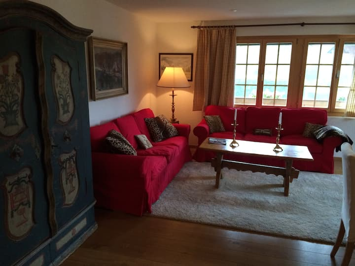 Beautiful 3 bedroom apt.in Saanen