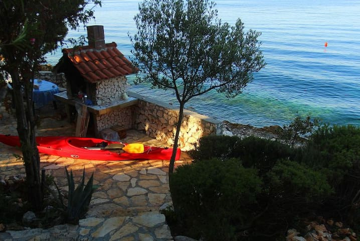 Peace&quiet 10 meters from the sea - Ždrelac - Daire