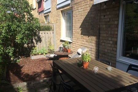 1 bedroom apartment with Patio - Danderyd