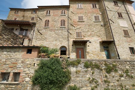 Skønt hus i Toscana - Castelluccio