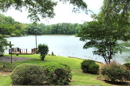 Lake view private lux suite - Tuscaloosa