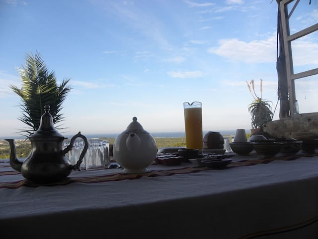 Maison calme avec vue exceptionelle - Sidi Kaouki - Σπίτι