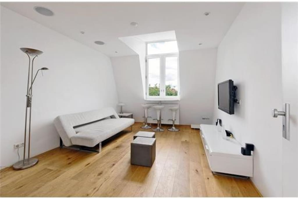 Top floor apartment in jordaan flats for rent in for Low cost apartments amsterdam