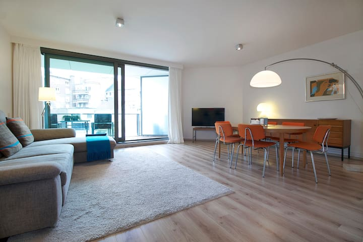 Stylish quiet apartment for up to 6 - Ghent - Apartment
