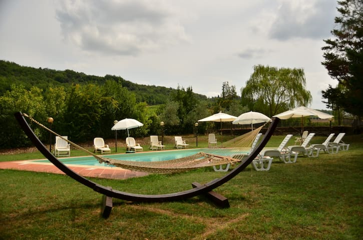 Villa in Chianti with pool and park - Sambuca - Vila