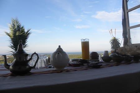 Suite calme avec vue exceptionelle - Sidi Kaouki - Bed & Breakfast