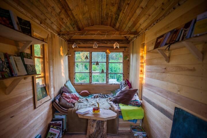 Permakulturbibliotek på hjul - Stjärnsund - Sommerhus/hytte