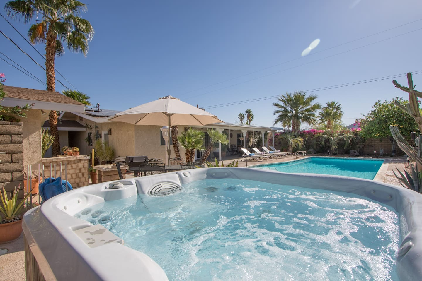 Desert Spa Home Detached Guest Room - Houses for Rent in Cathedral ...