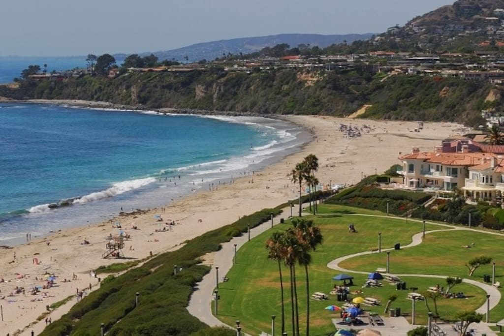 Aerial view of Monarch Beach