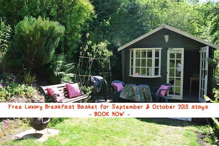 The Cabin – with private garden - Oswestry