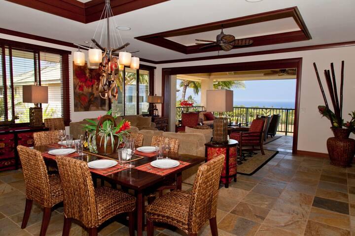 MAUNA KEA LUXURY-BEST OCEAN VIEWS - Waimea - Condominium