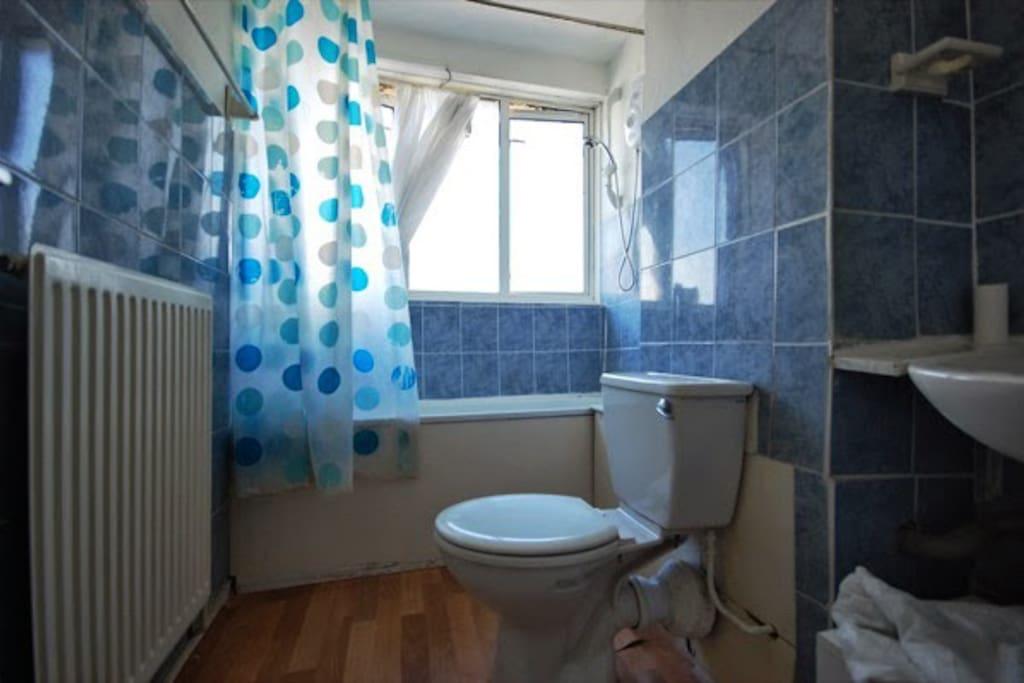 Shared Bathroom with my 3 flatmates