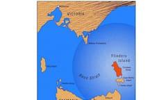 Location of Flinders Island, Tasmania