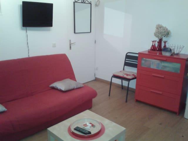 STUDIO A  700 M DE LA MER - Benerville-sur-Mer - Appartement