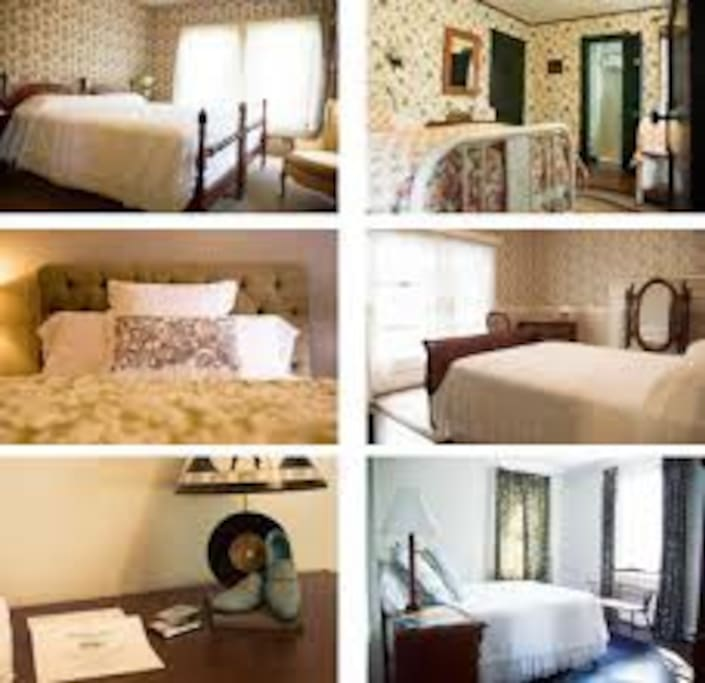 Here is a snapshot of some of the rooms