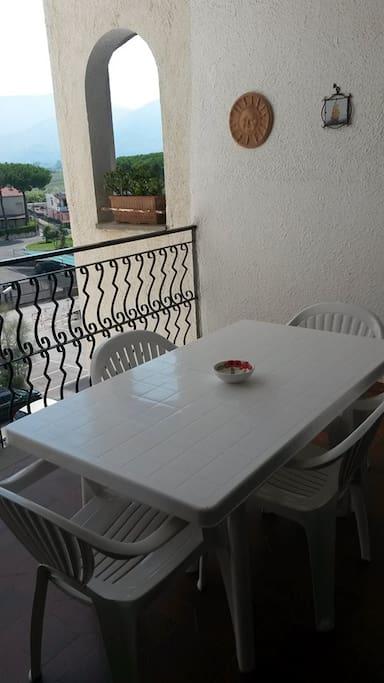 Terrazzino del soggiorno