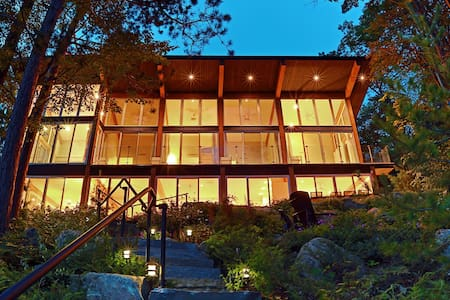 MODERN MUSKOKA SUNSETS AND VIEWS - Bracebridge - Dağ Evi