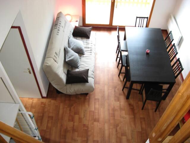 Un appartement duplex pour 8 personnes max