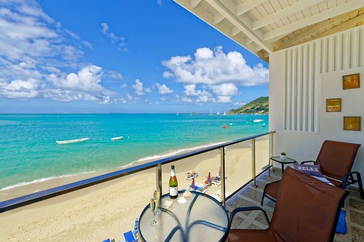 Jolie Beach Apartment-Paradise View - Grand-Case - Wohnung