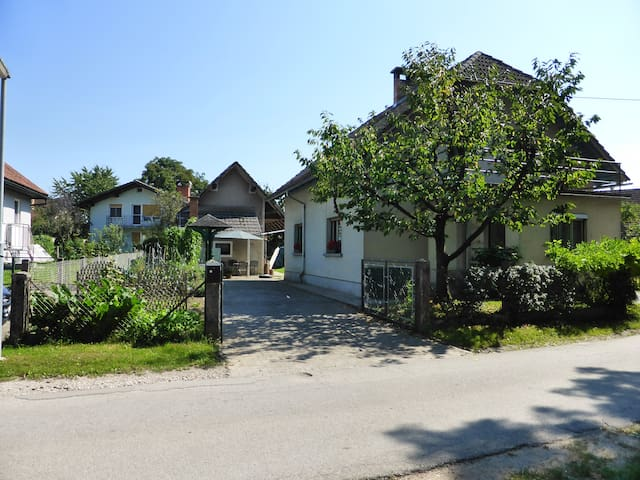 Scout cottage in village near city - Trboje - House
