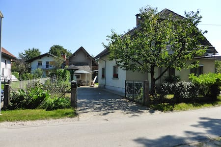 Scout cottage in village near city - Trboje - Hus