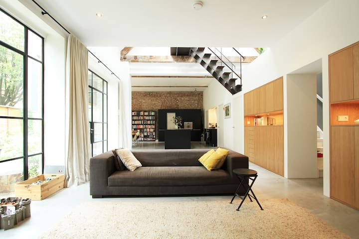 Loft - family house, with garden - Amsterdam - Haus