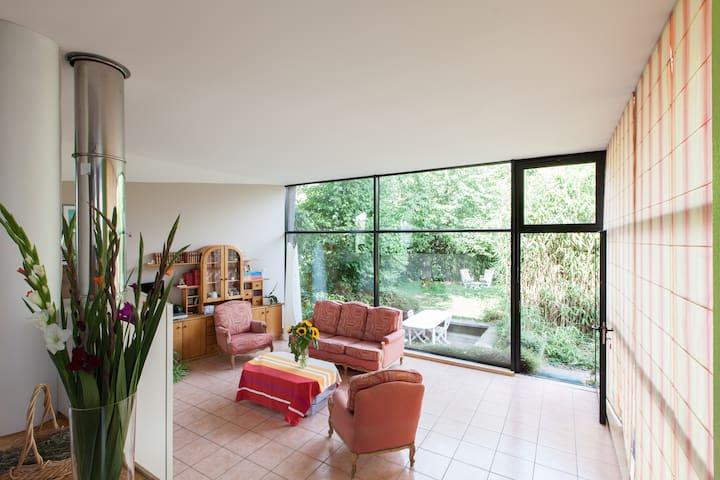 Bel espace très calme avec jardin - Batzendorf