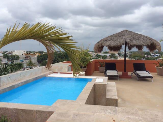 Great 3 bethroom apartment #4 - Playa del Carmen - Leilighet