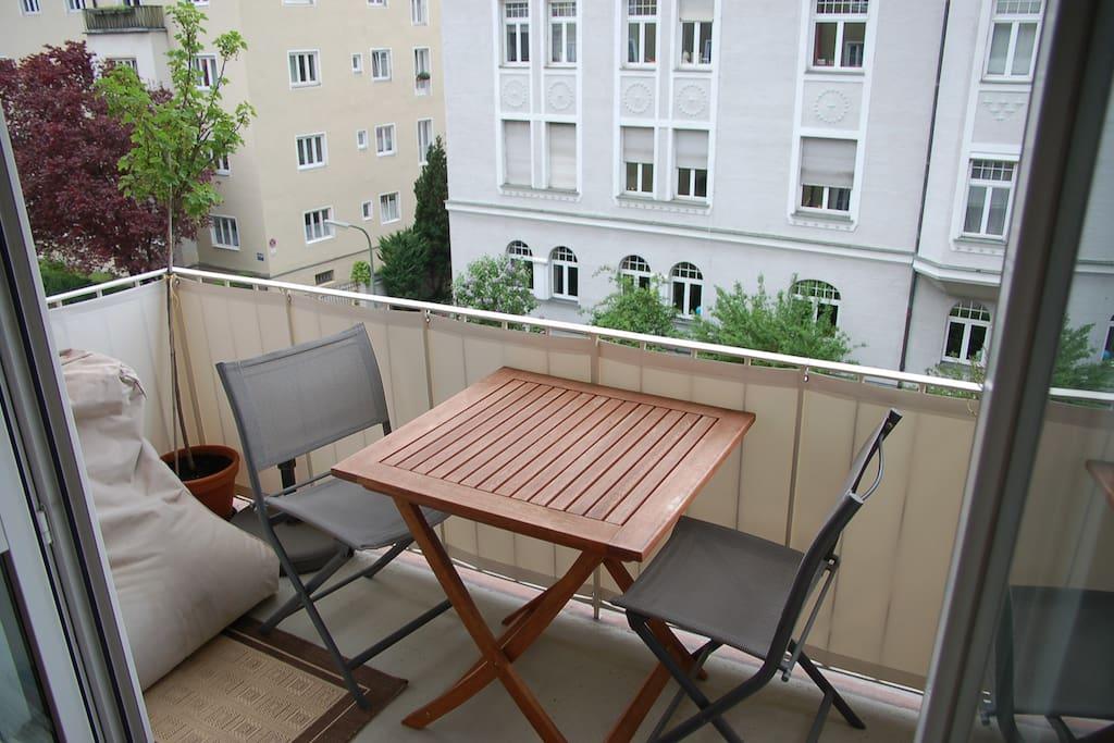 Chilliger Balkon