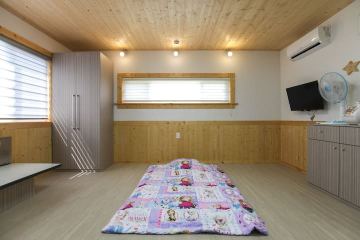 다랑쉬방 두린벨쉼팡 제주도 편안하고 아늑한  프라이빗 하우스